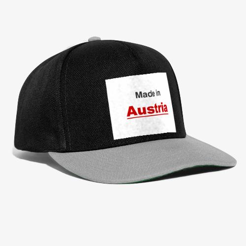 Made in Austria - Snapback Cap