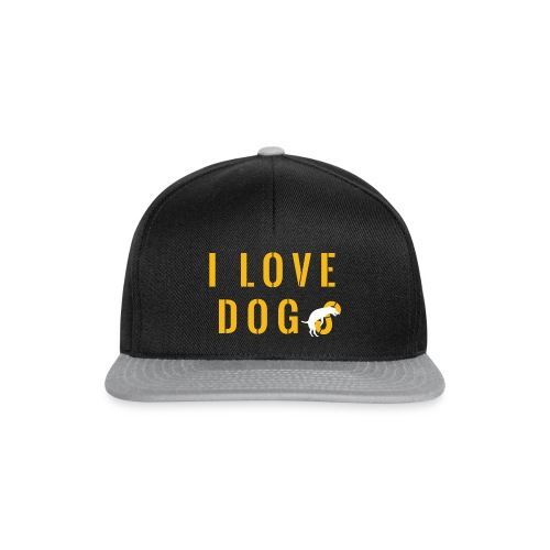 I love dogs2 - Snapback Cap