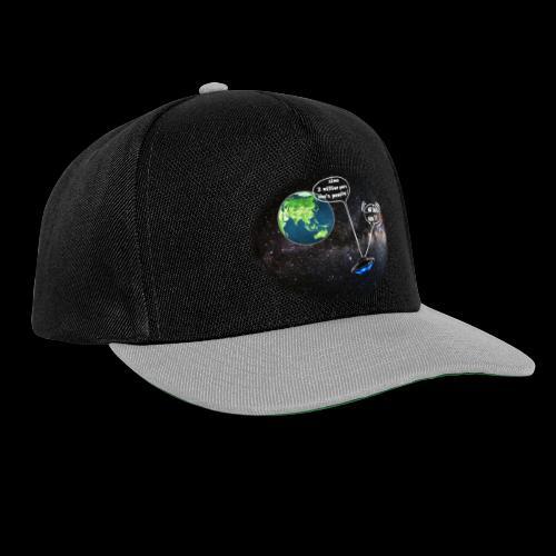 mg green planet - Snapback Cap