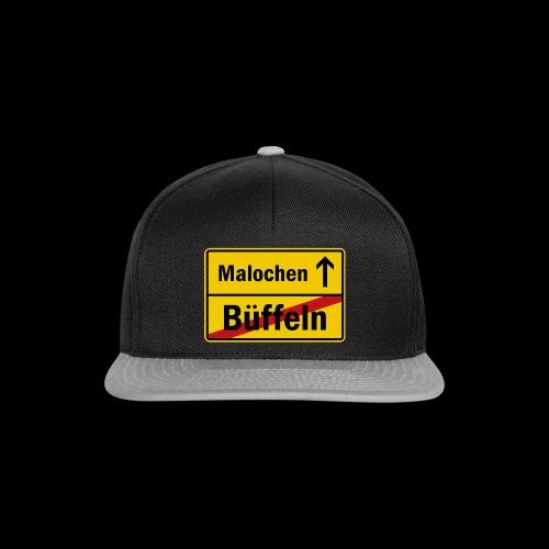 bueffeln vs. malochen - Snapback Cap
