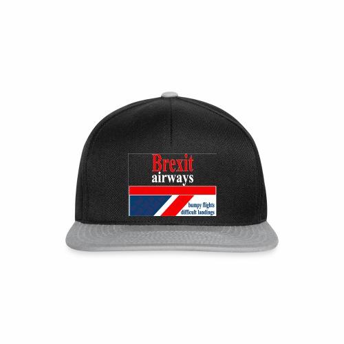 BREXIT AIRWAYS - Snapback cap