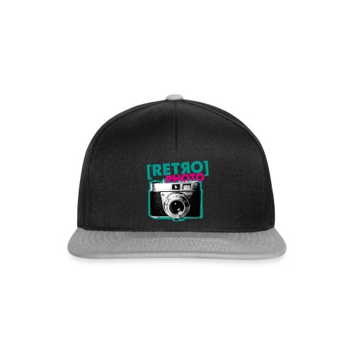 Retro Photo - Snapback Cap