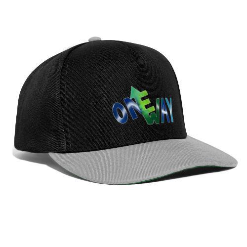 One Way - Snapback Cap