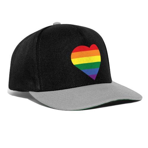 RainbowHeart - Snapback Cap