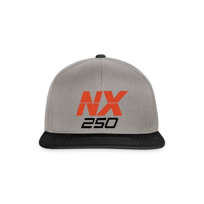 nx250 logo transparant