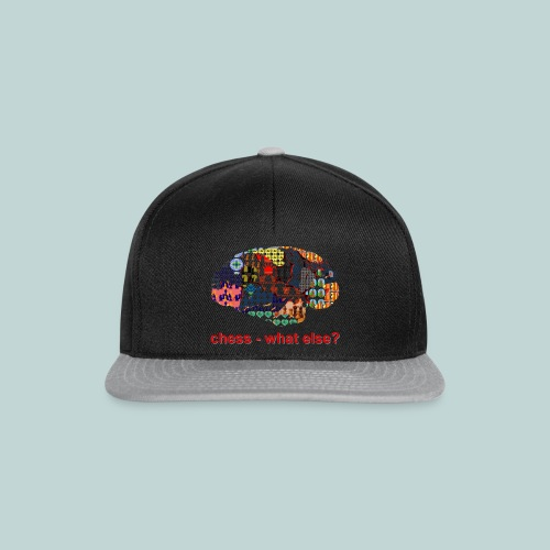 chess_what_else - Snapback Cap