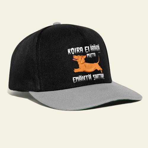 Mäyräkoira LK Emäntä 5 - Snapback Cap