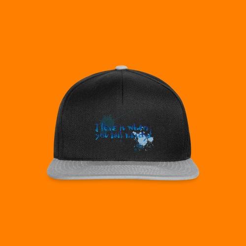 talk nerdy - Snapback Cap