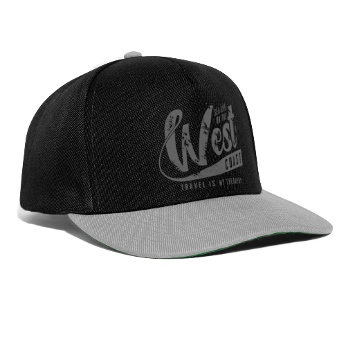 West Coast Sea surf clothes and gifts GP1306B - Snapback Cap