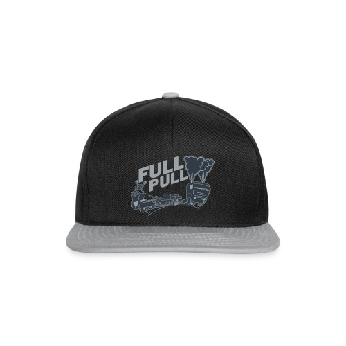 full pull duotone contour landscape - Snapback cap