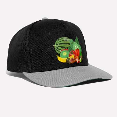 Fruits and vegetables lover - Snapback Cap