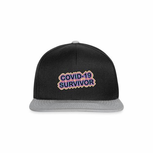 covic19survivor - Snapback Cap