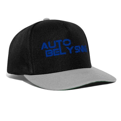 AutoBelysning Blå - Snapback-caps