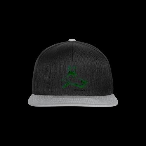 hundgrün.png - Snapback Cap