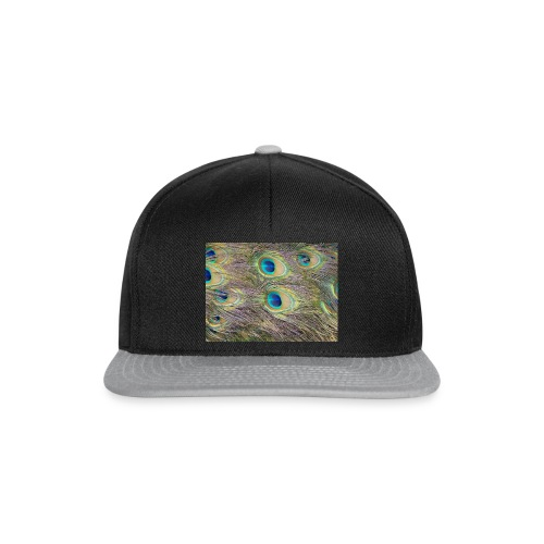Peacock feathers - Snapback Cap