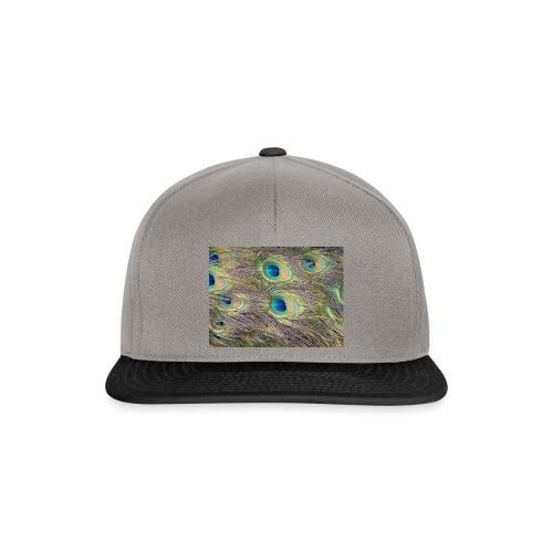 Peacock feathers - Snapback Cap