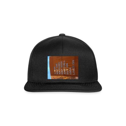 An Idea Lives On - Snapback Cap