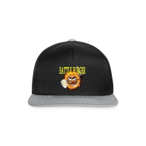 Battle_Burger - Gorra Snapback