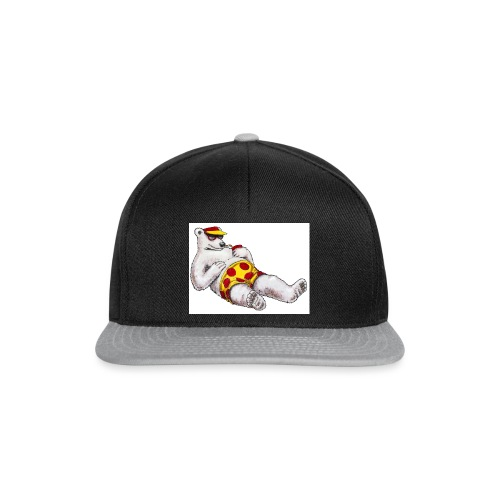 polar bear beach party - Snapback Cap