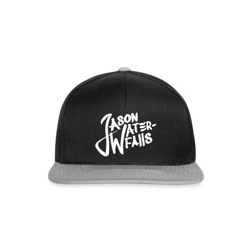 JasonWaterfalls logo - Snapback cap