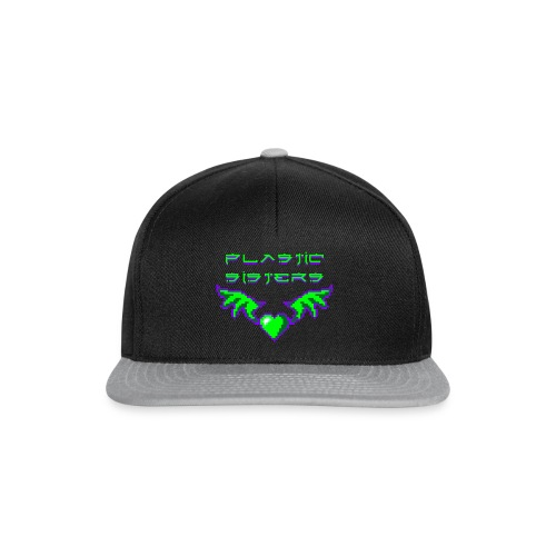 pixheartsisgreen2 Kopie - Snapback Cap