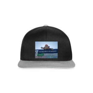 The Adventures of the Crocheted Monkey - Snapback cap