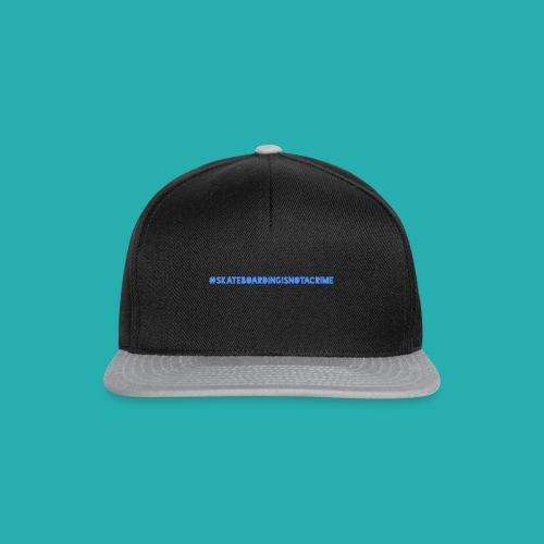 #SKATEBOARDINGISNOTACRIME - Snapback Cap