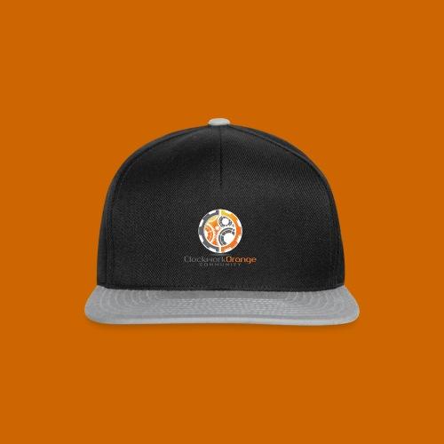 Clockwork-Orange Community Logo mit Schrift - Snapback Cap