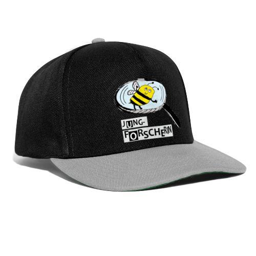 Jungforscherin mit Biene - Snapback Cap