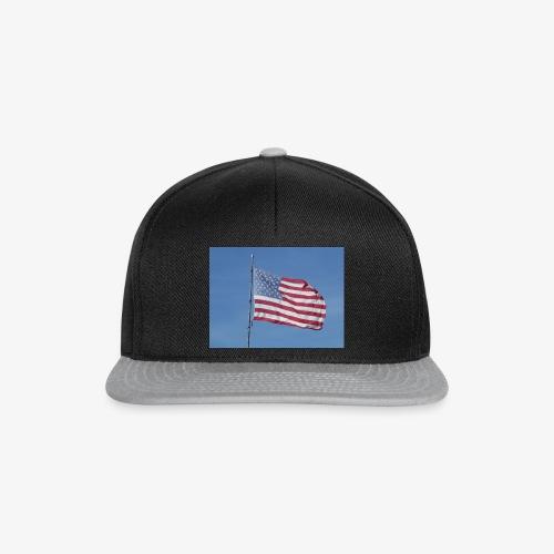 USA Flagge - Snapback Cap
