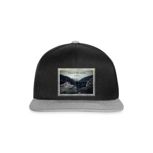 face of the earth - Snapback cap