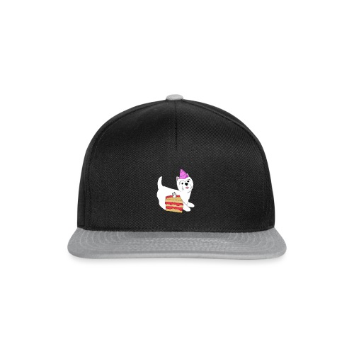 Birthday Westie dog - Snapback Cap