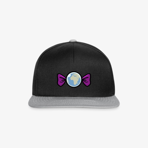 Candy World Purple - Casquette snapback