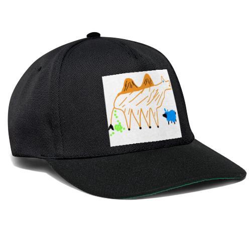 T-Shirt - The Carmel and the blue sheep - Snapback Cap