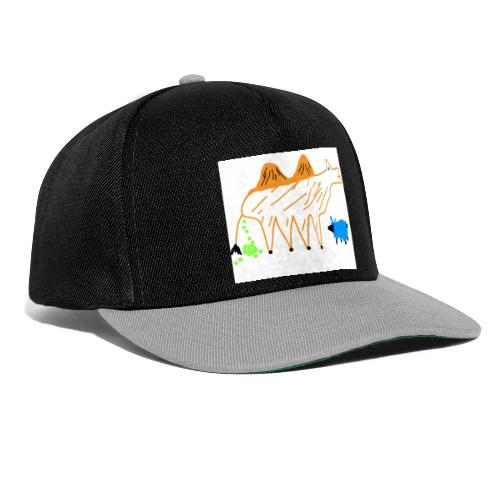 T-Shirt - The Carmel and the blue sheep - Snapback Cap