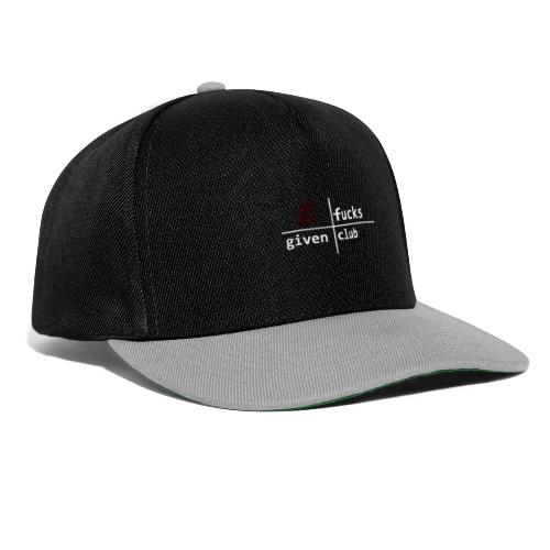 nofucksgiven schwarz - Snapback Cap