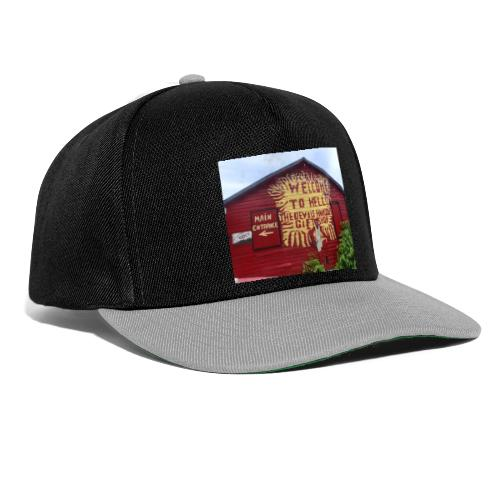 Welcome to hell - Snapback Cap