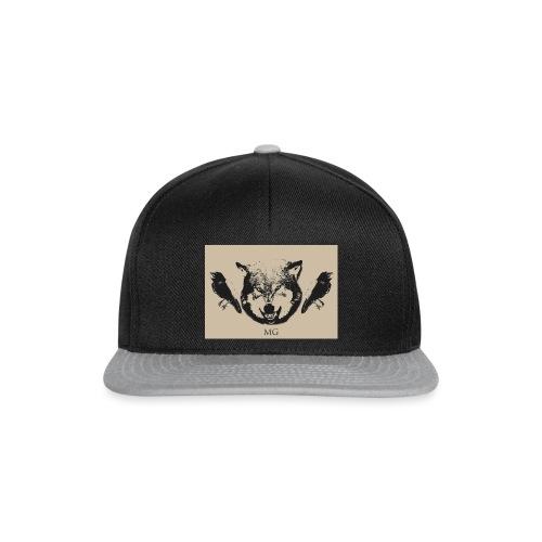 Wolf und Raben - Snapback Cap