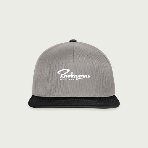RuokangasGuitars white - Snapback Cap