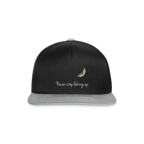 Never stop looking up - Snapback Cap