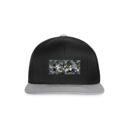 calavera style - Snapback Cap