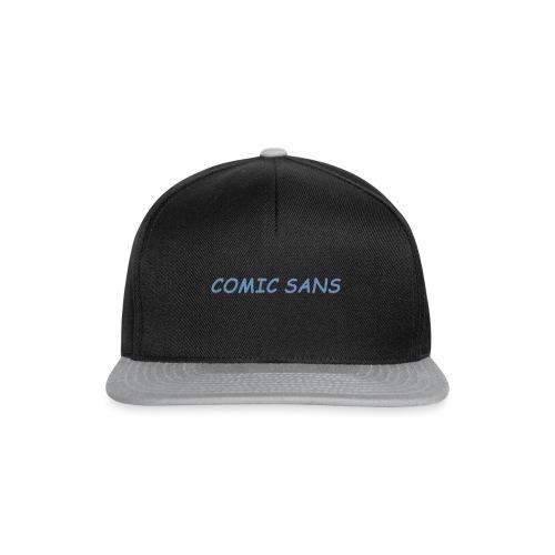comic sans bucket hat - Snapback Cap