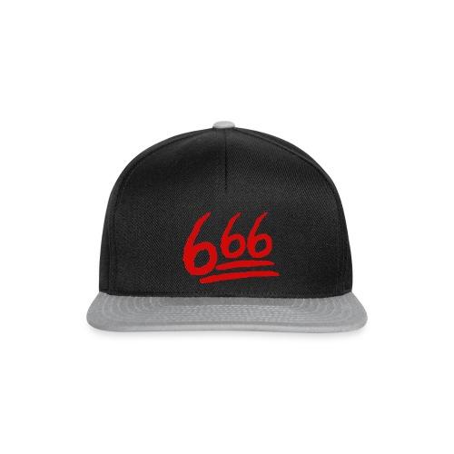 666 playera - Gorra Snapback