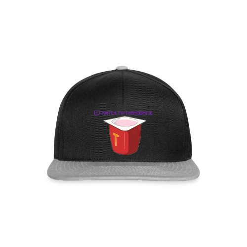 Snapback Thanoontje logo - Snapback Cap
