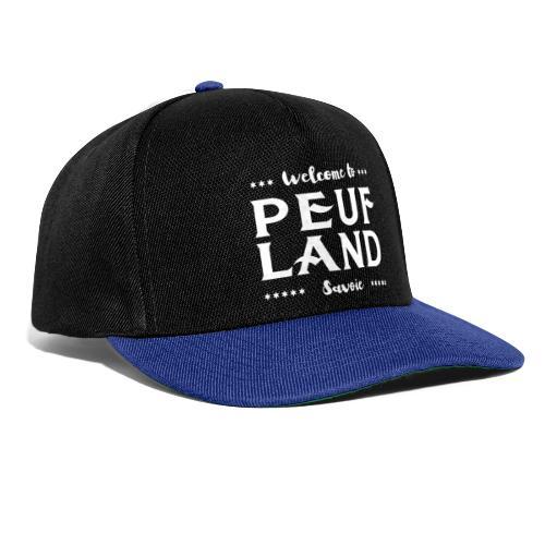 Peuf Land 73 - Savoie - White - Casquette snapback