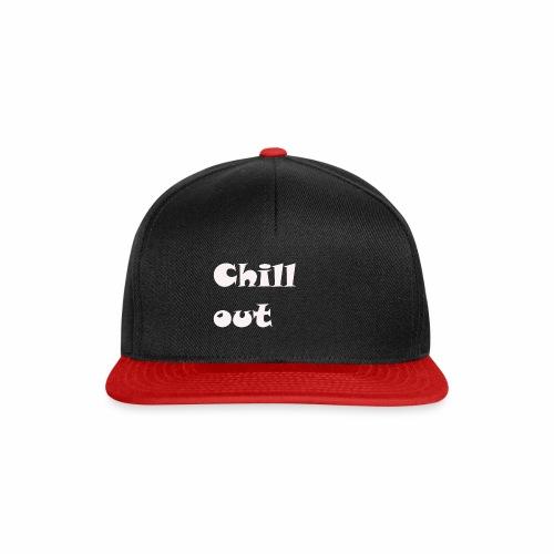 chill jugend ruhig Schriftzug geburtstag chillig - Snapback Cap