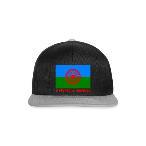 o styago le romengo flag of romani people t-shirt - Snapback Cap