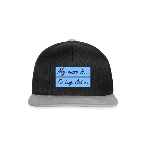 What-is-your-name - Snapback cap