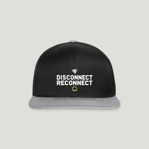 Disconnect Reconnect - Dein Wlan im Wald - Snapback Cap