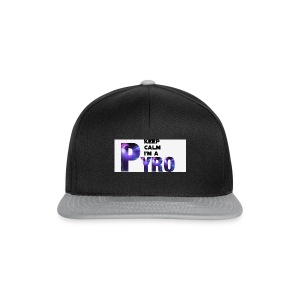Keep Calm Pyro-Shirt - Snapback cap